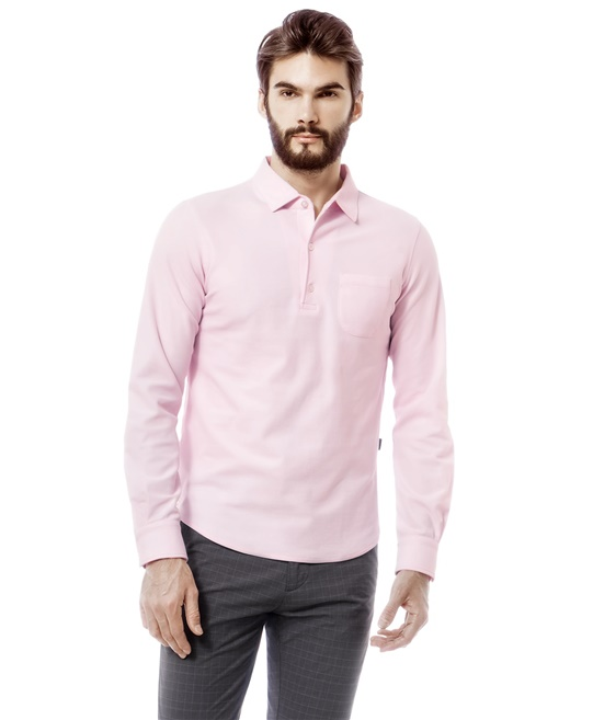 92fd1a7b959 Рубашка поло однотонная
