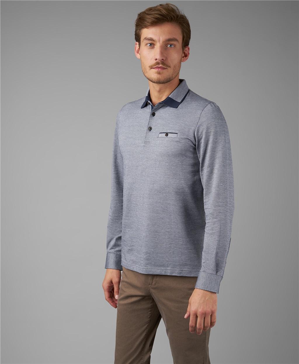 Рубашка поло HENDERSON HPL-0049 GREY фото