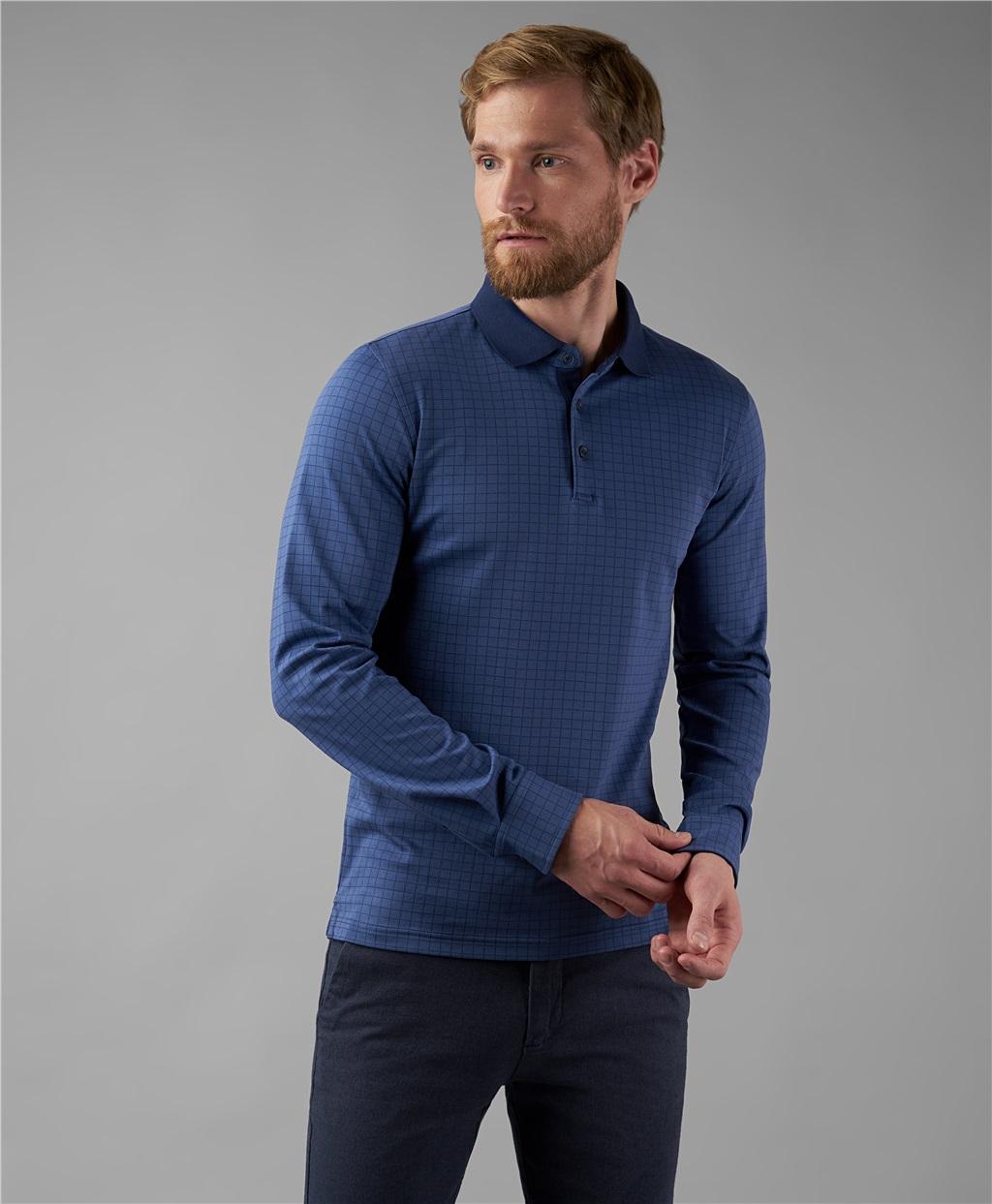 Рубашка поло HENDERSON HPL-0051 NAVY фото