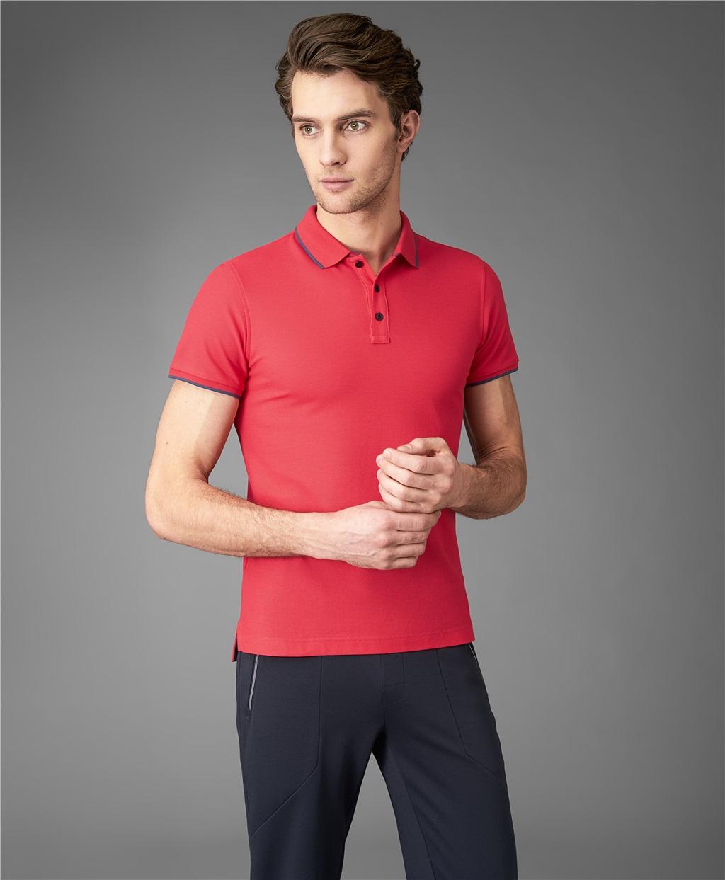 Рубашка поло HENDERSON HPS-0076-2 PINK фото