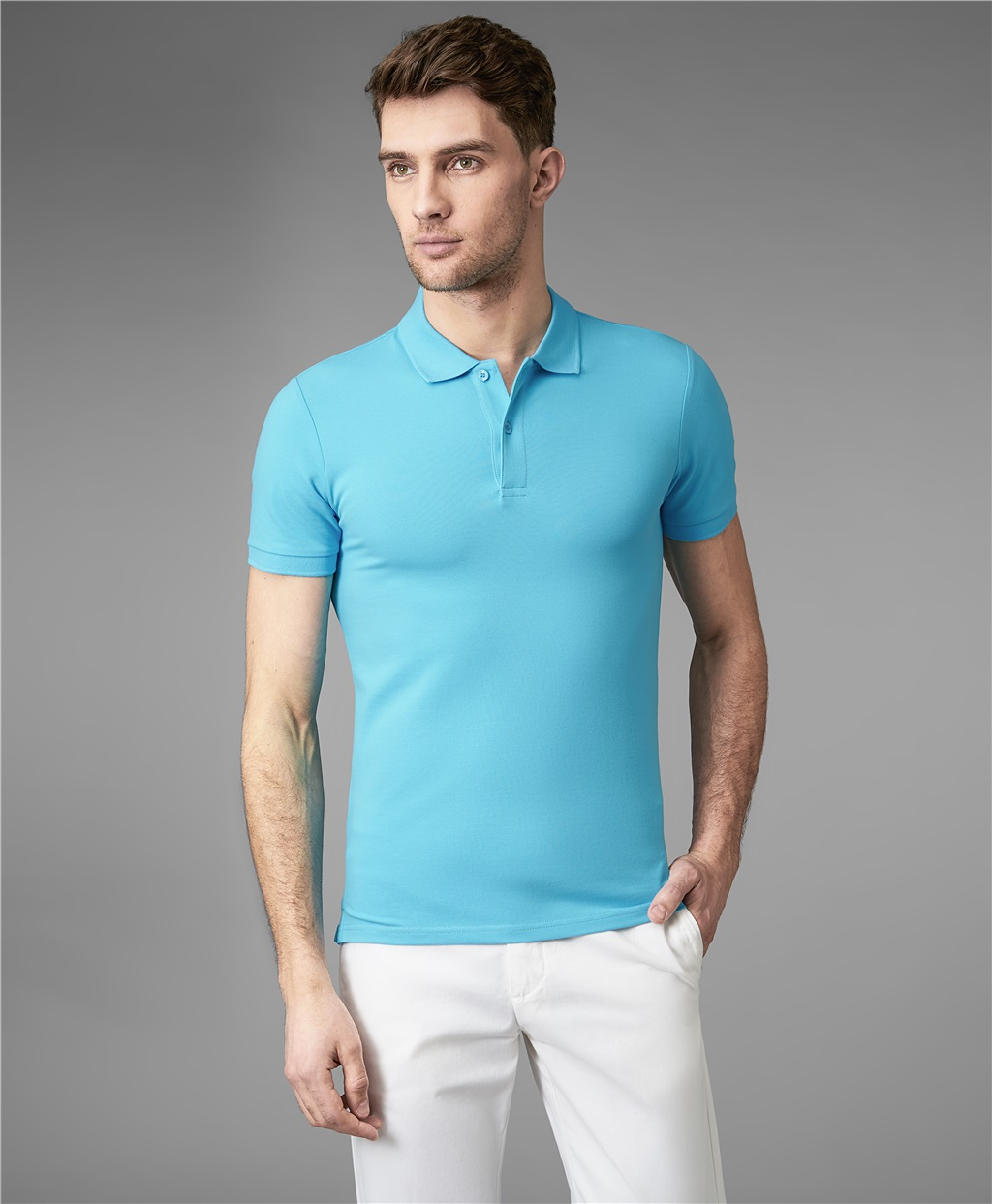 Рубашка поло HENDERSON HPS-0182-4 BLUE3 фото