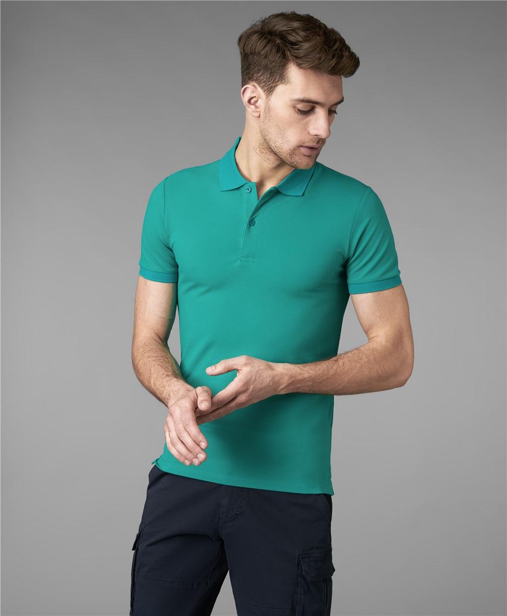 Рубашка поло HENDERSON HPS-0182-4 GREEN1 фото