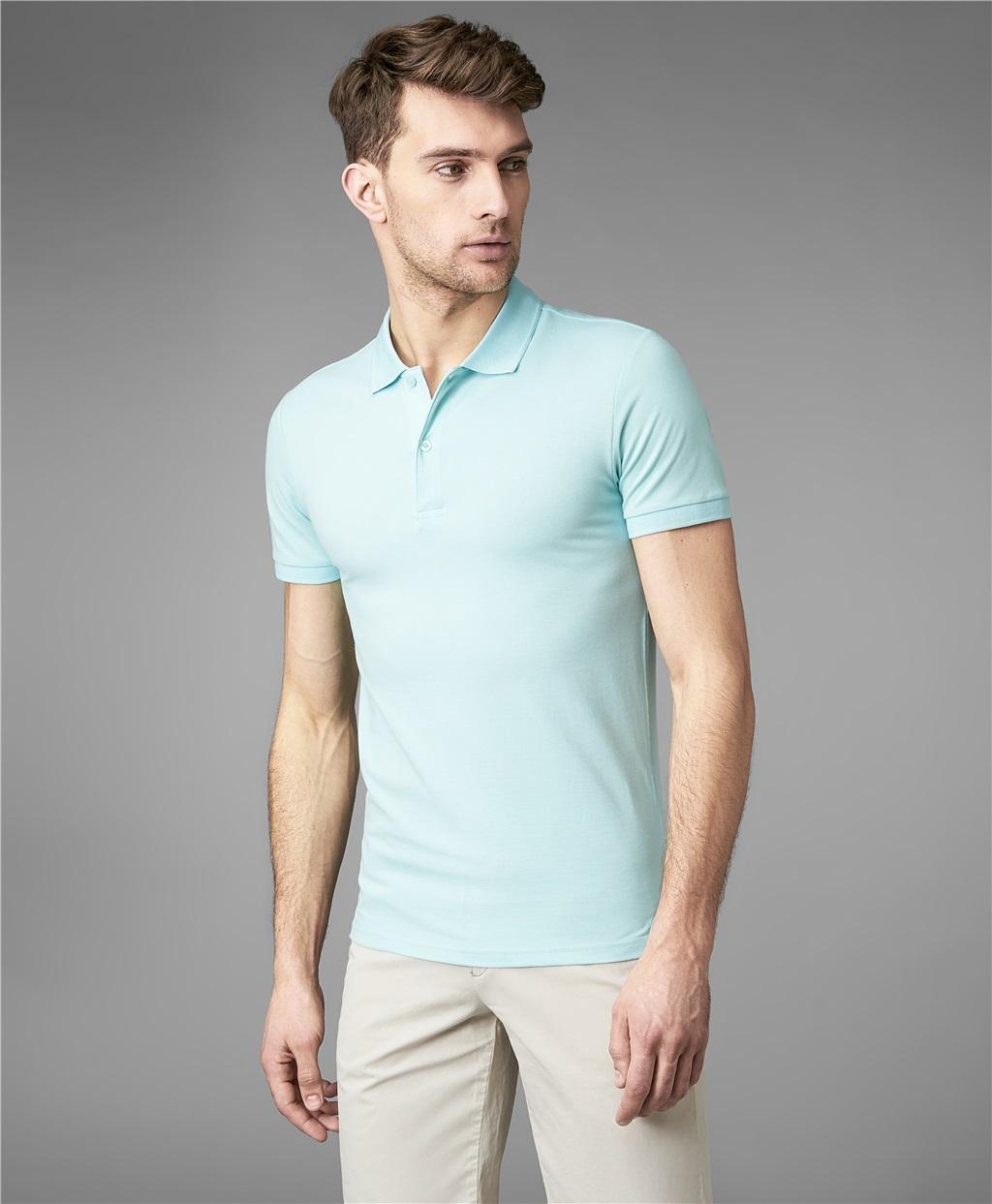 Рубашка поло HENDERSON HPS-0182-4 OBLUE фото