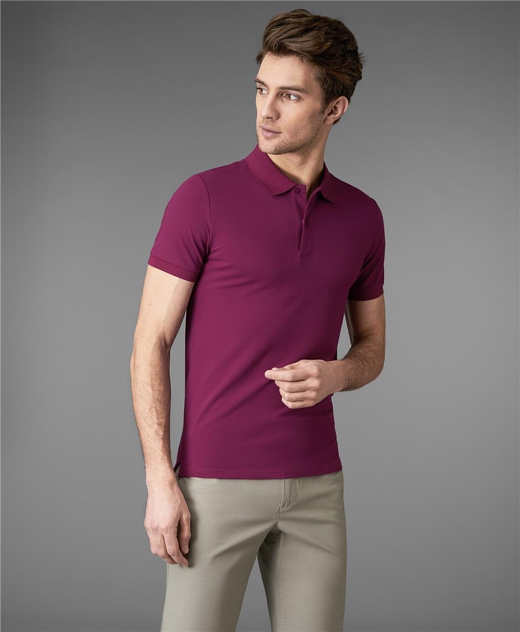 Рубашка поло HENDERSON HPS-0182-4 PURPLE фото