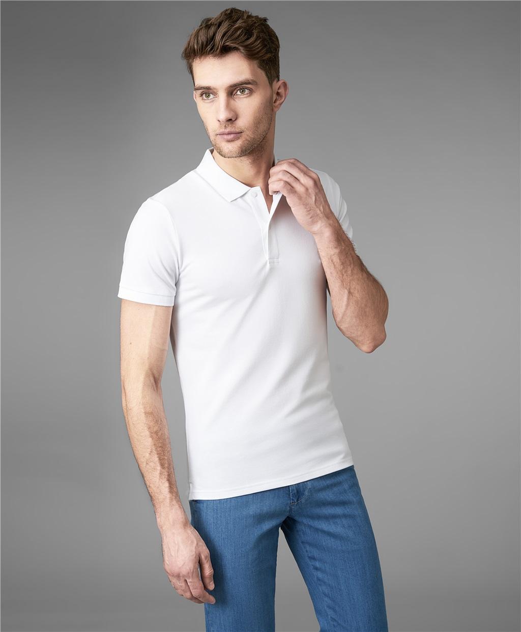 Рубашка поло HENDERSON HPS-0182-4 WHITE фото
