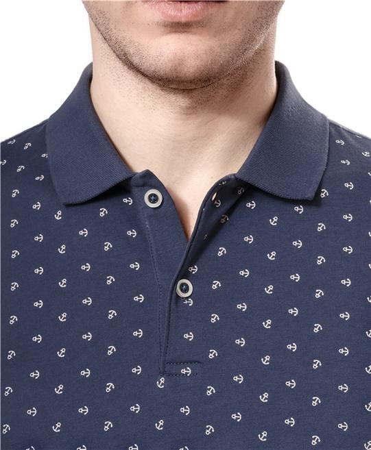 5abf6b745b5fe Рубашка поло с узором