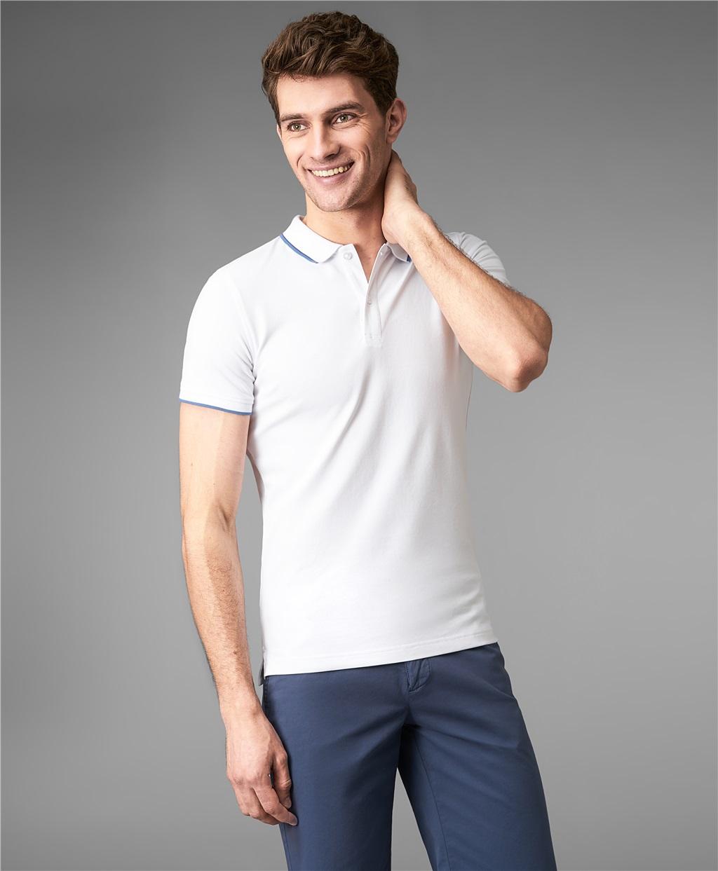 Рубашка поло HENDERSON HPS-0264-1 WHITE фото