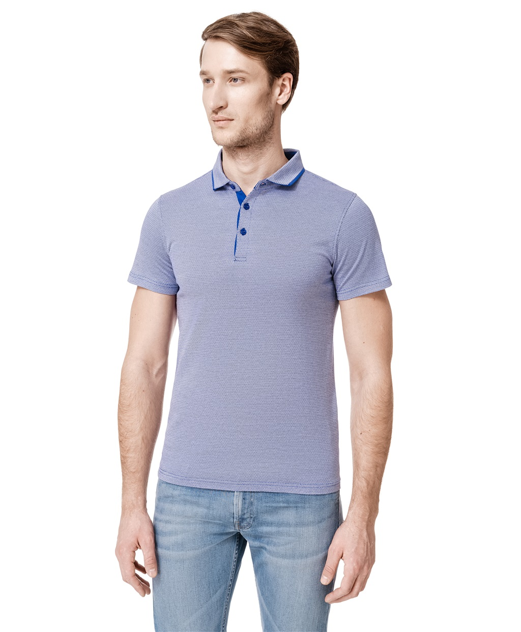 Рубашка поло HAYAS HPS-0271 NAVY фото