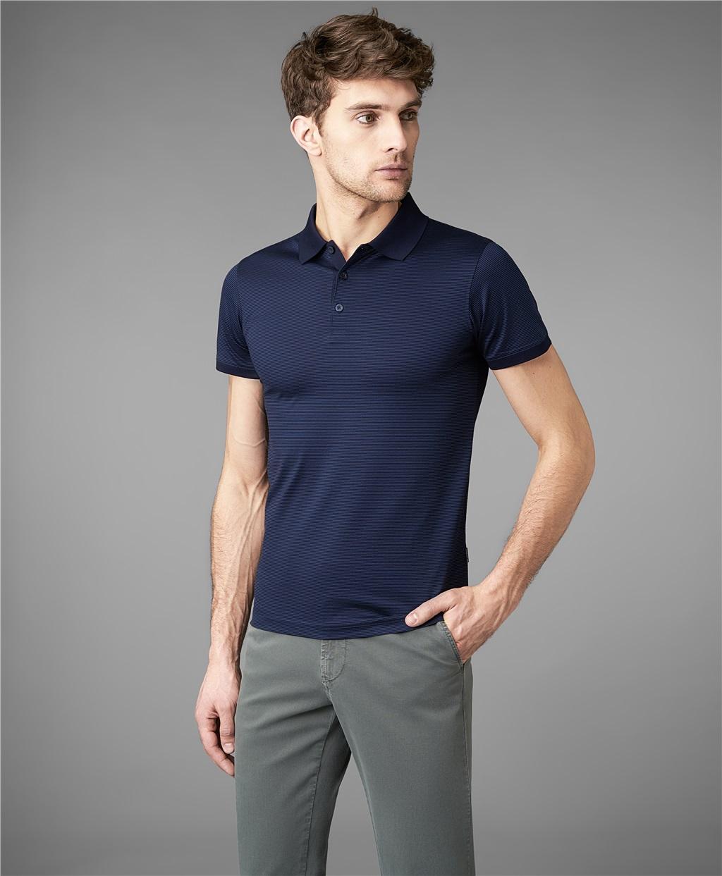Рубашка поло HENDERSON HPS-0274 DNAVY фото