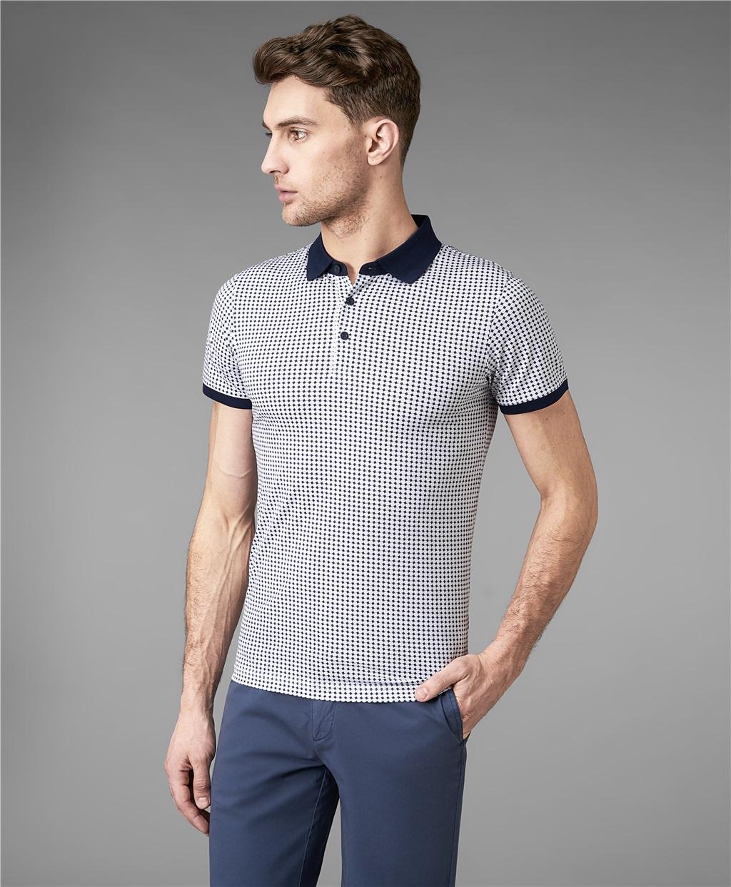 Рубашка поло HENDERSON HPS-0280 WHITE фото