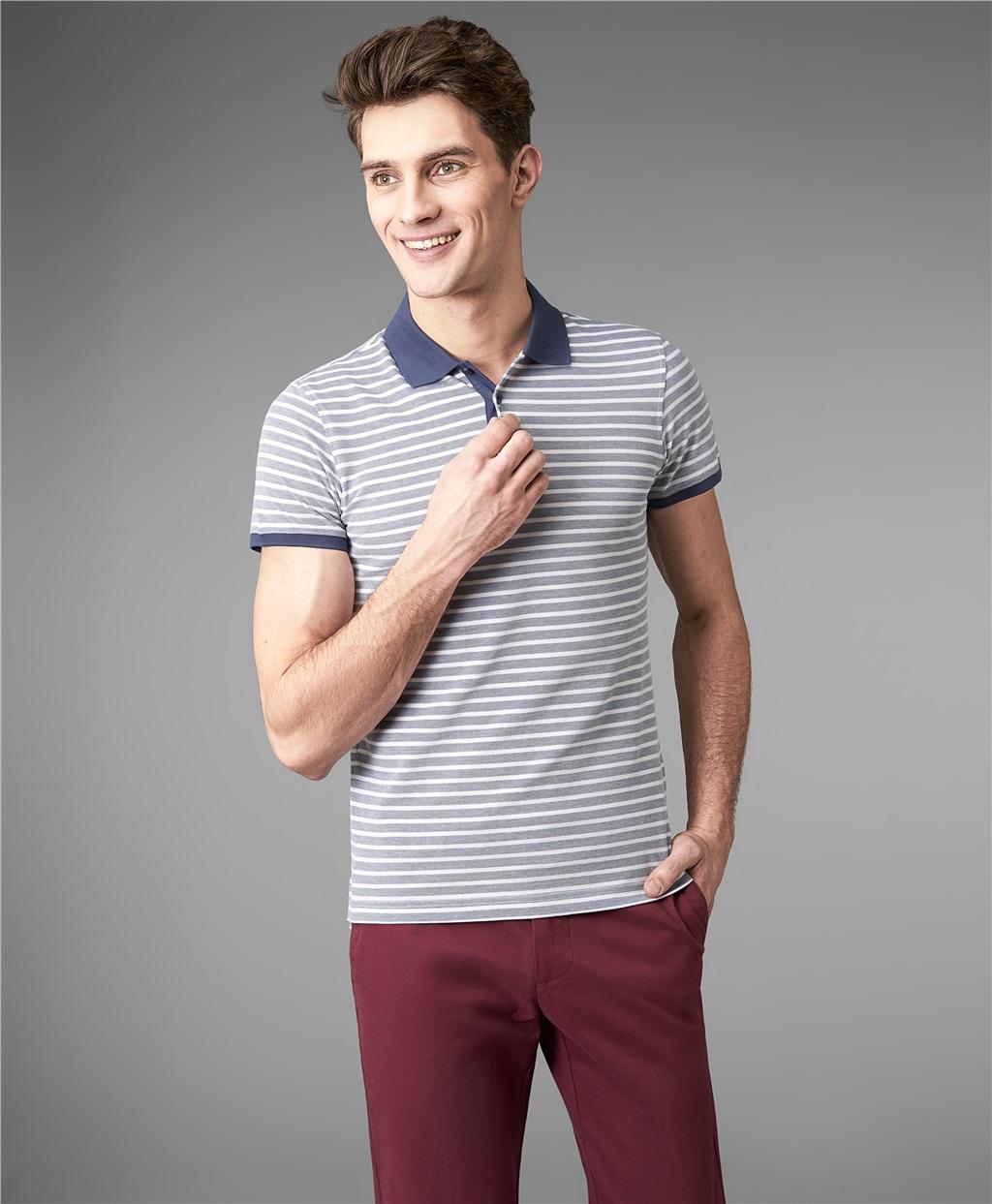 Рубашка поло HENDERSON HPS-0288 NAVY фото