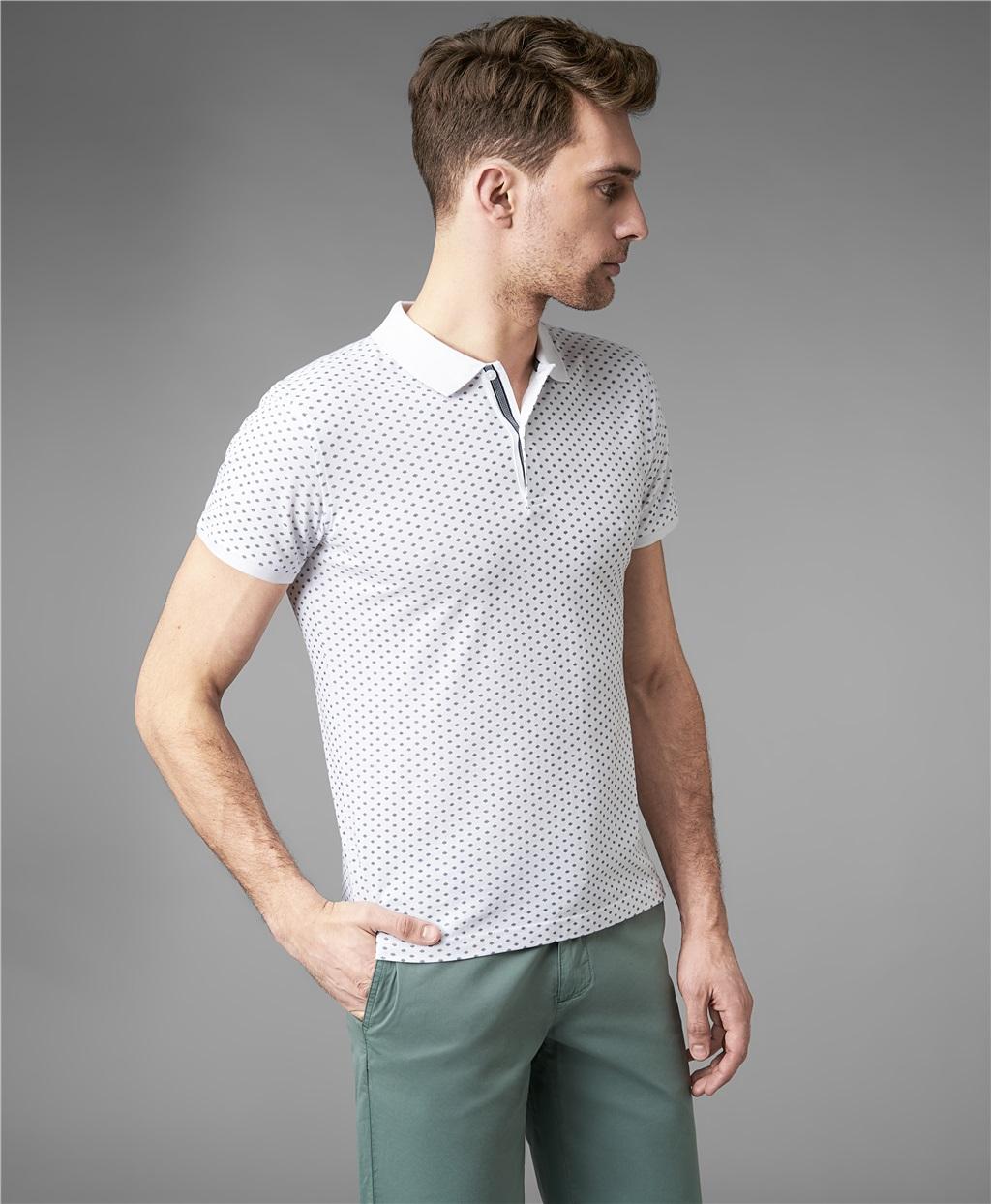 Рубашка поло HENDERSON HPS-0306 WHITE фото