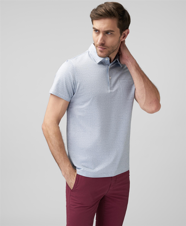 Рубашка поло HENDERSON HPS-0314 BLUE фото