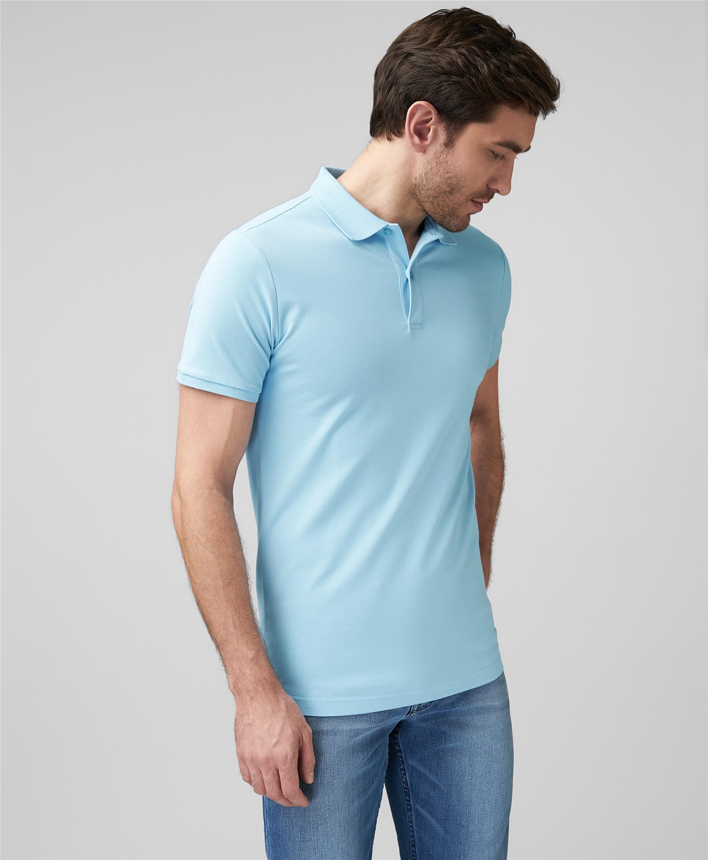 Рубашка поло HENDERSON HPS-0328 BLUE фото