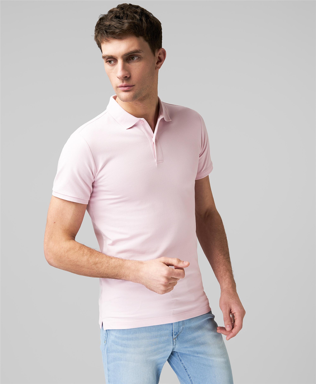 Рубашка поло HENDERSON HPS-0328 LPINK фото