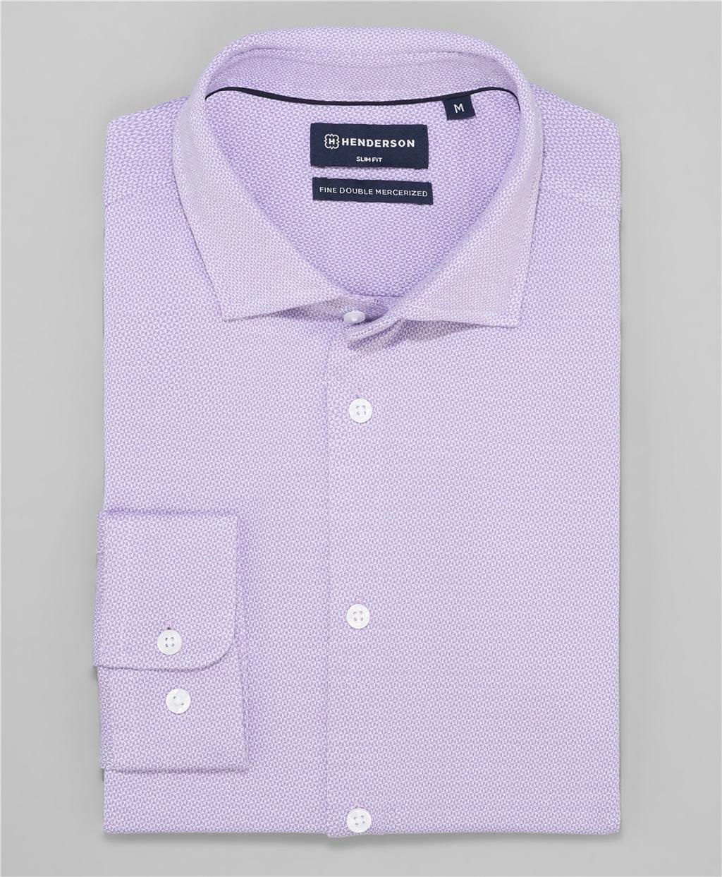 Рубашка трикотажная HENDERSON HSL-0034 VIOLET фото