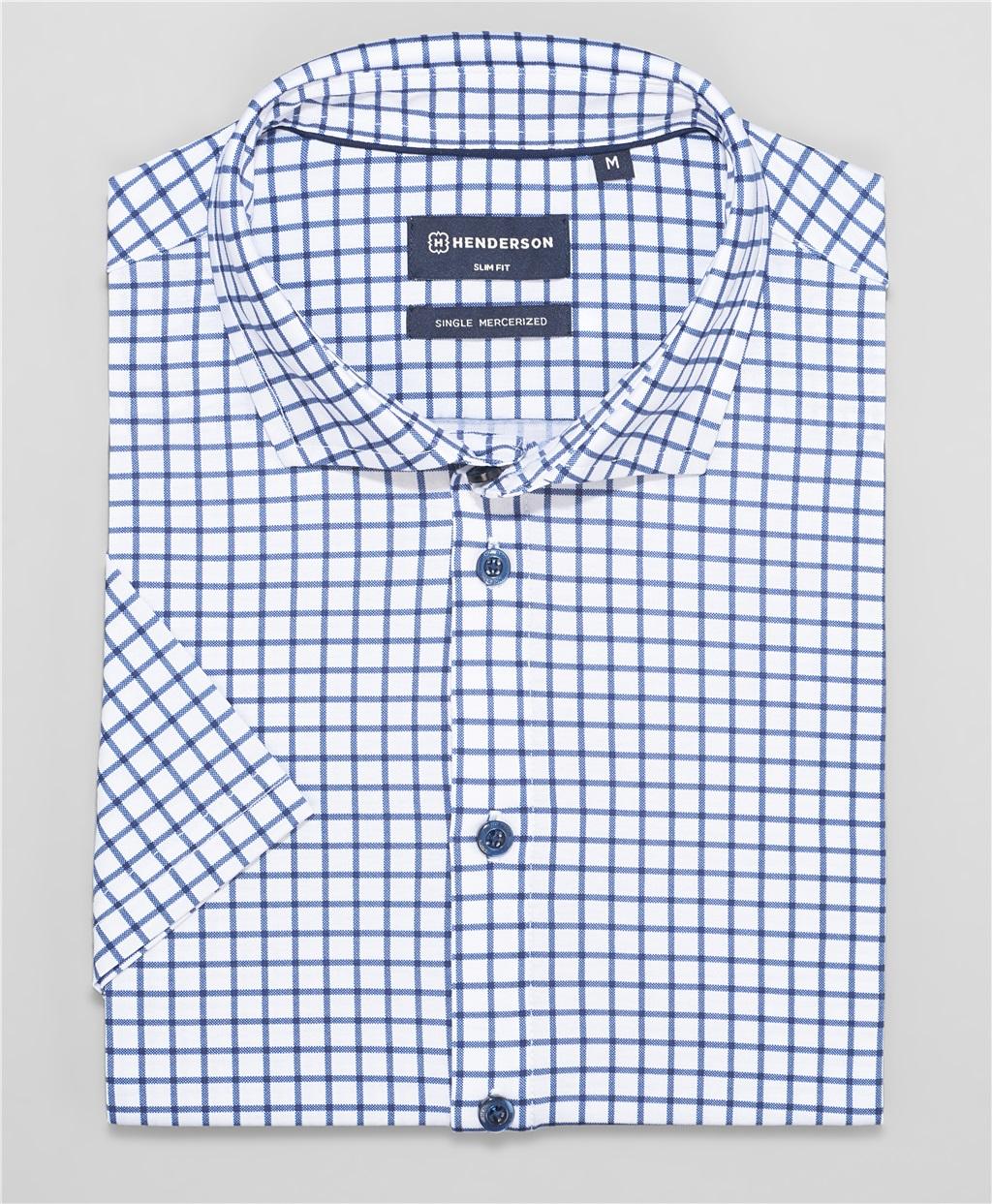 Рубашка трикотажная HENDERSON HSS-0091-1 WHITE фото