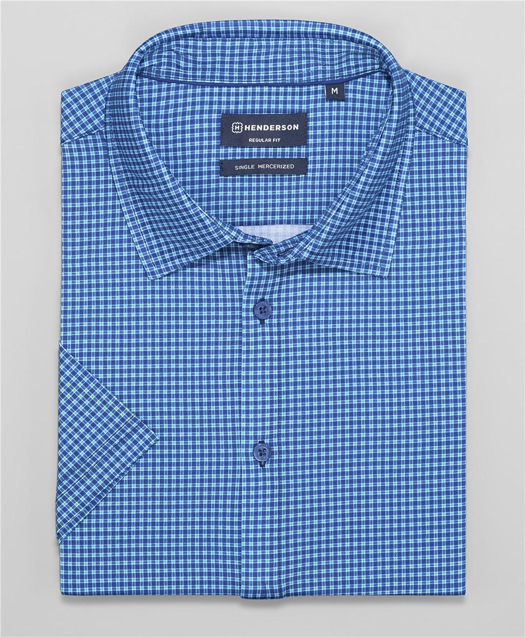Рубашка трикотажная HENDERSON HSS-0102 DBLUE фото