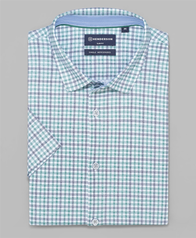 Рубашка трикотажная HENDERSON HSS-0111 GREEN фото