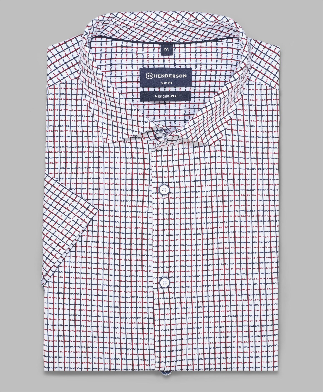 Рубашка трикотажная HENDERSON HSS-0115 RED фото