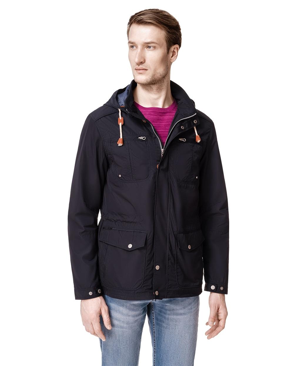 Куртка - ветровка HAYAS JK-0247 NAVY фото