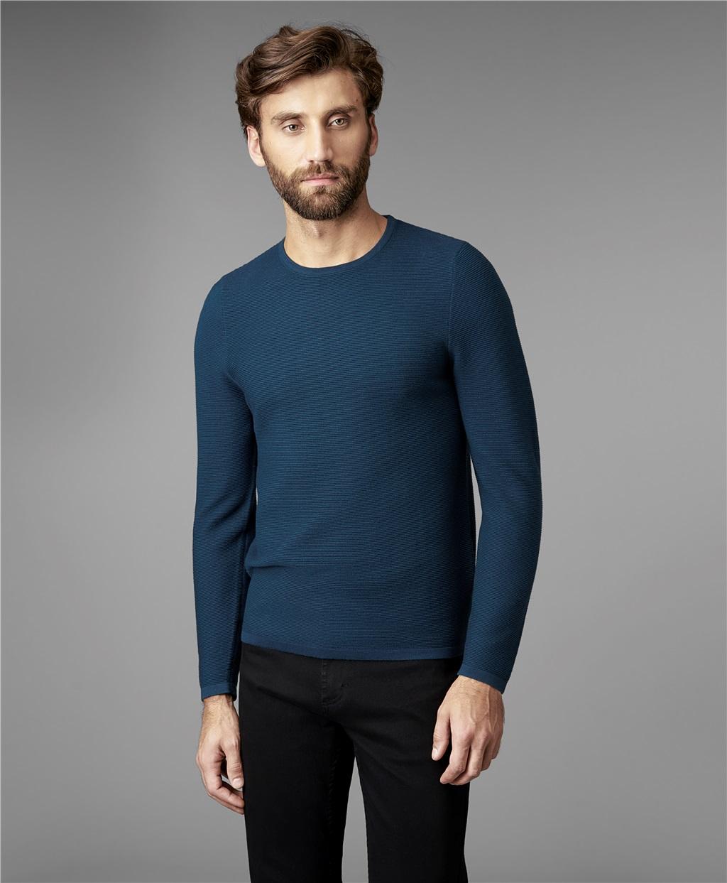 Пуловер трикотажный HENDERSON KWL-0685 GREEN фото