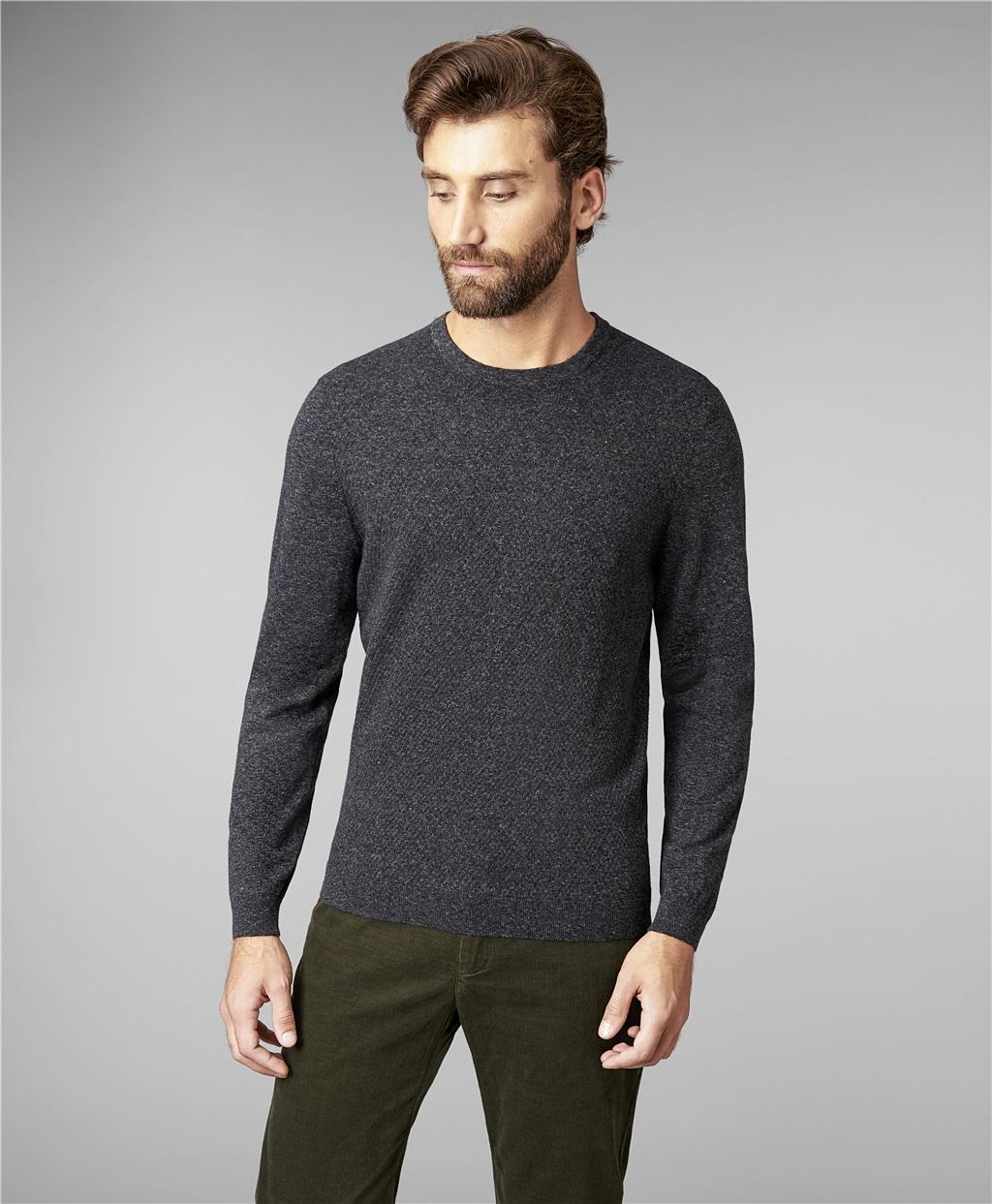 Пуловер трикотажный HENDERSON KWL-0689 GREY фото