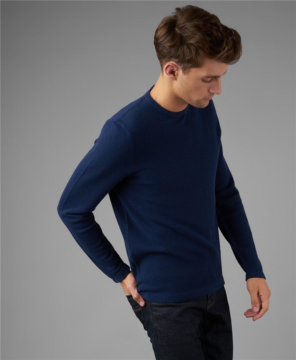 Пуловер трикотажный HENDERSON KWL-0782 DNAVY фото