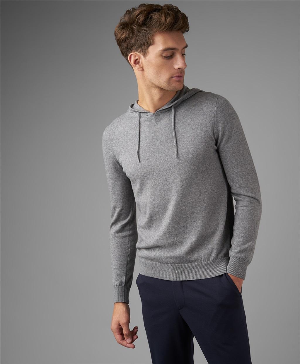 Пуловер трикотажный HENDERSON KWL-0789 GREY фото