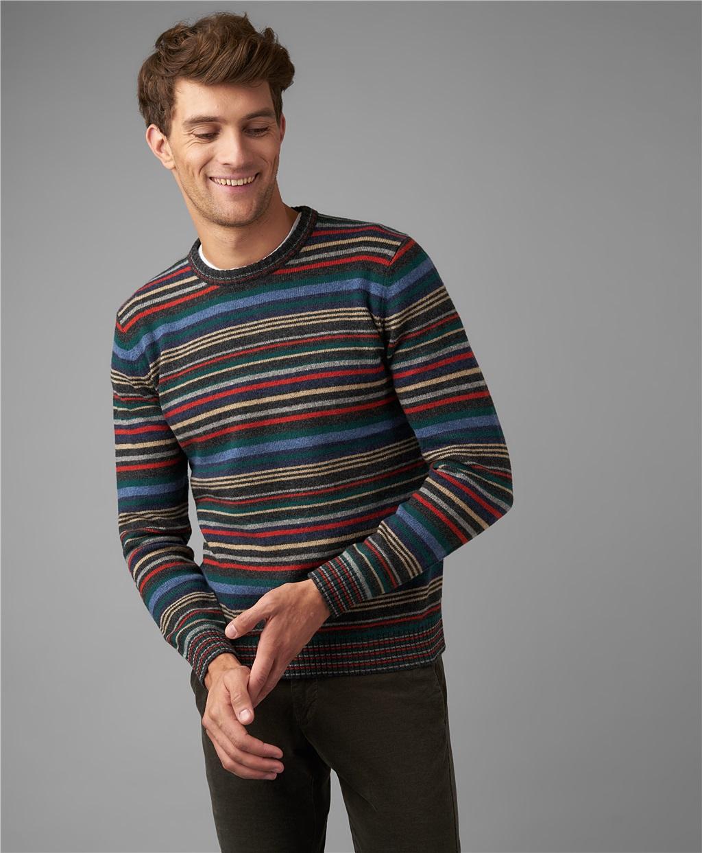 Пуловер трикотажный HENDERSON KWL-0794 GREY фото