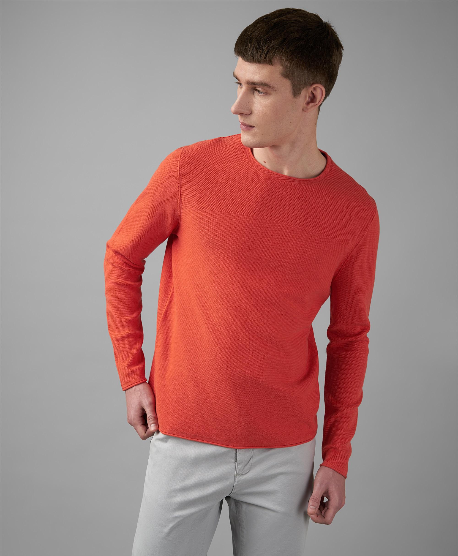 Пуловер трикотажный HENDERSON KWL-0820 CORAL фото