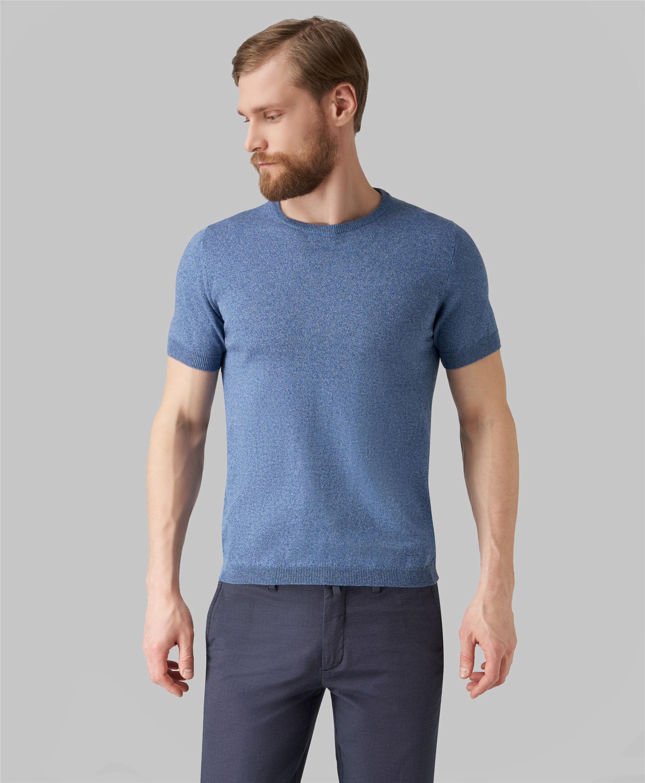 Пуловер трикотажный HENDERSON KWS-0040 BLUE фото