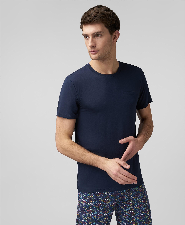 Пижамная футболка HENDERSON PJ2-0062 NAVY фото
