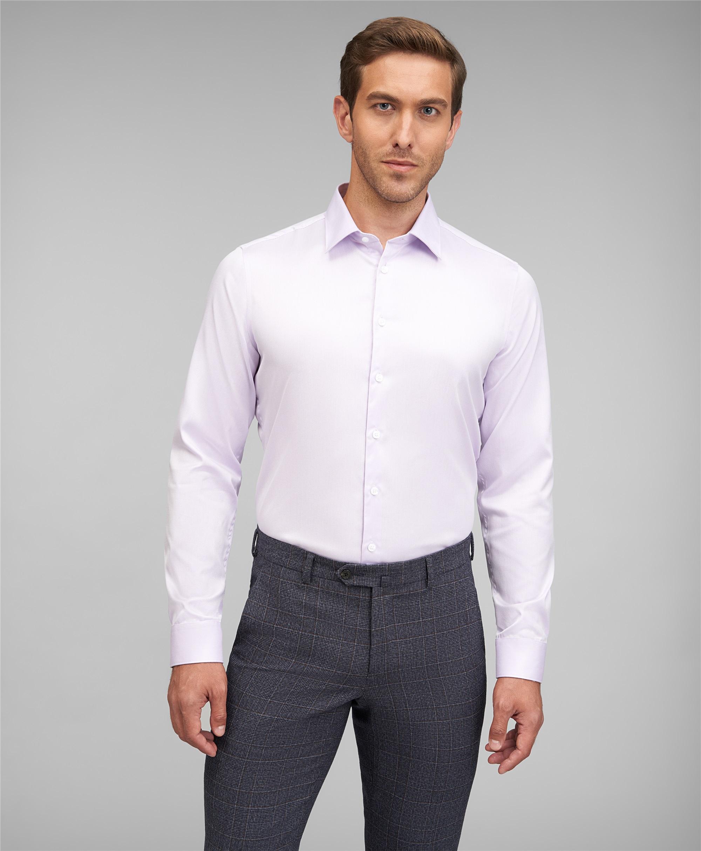 Рубашка прилегающий силуэт HENDERSON SHL-2426-X VIOLET фото