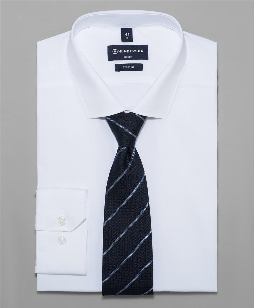 Рубашка полуприлегающий силуэт HENDERSON SHL-2843-S WHITE фото