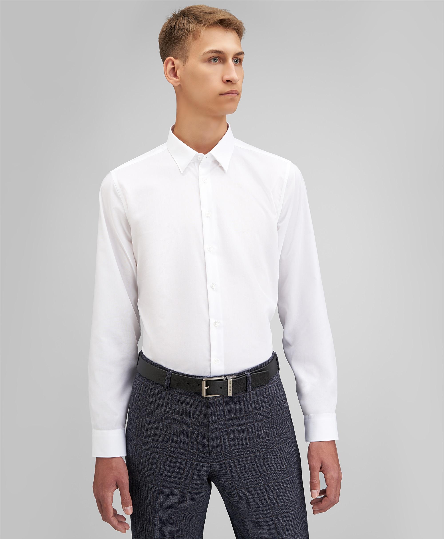 Рубашка прилегающий силуэт HENDERSON SHL-2985-XL WHITE фото