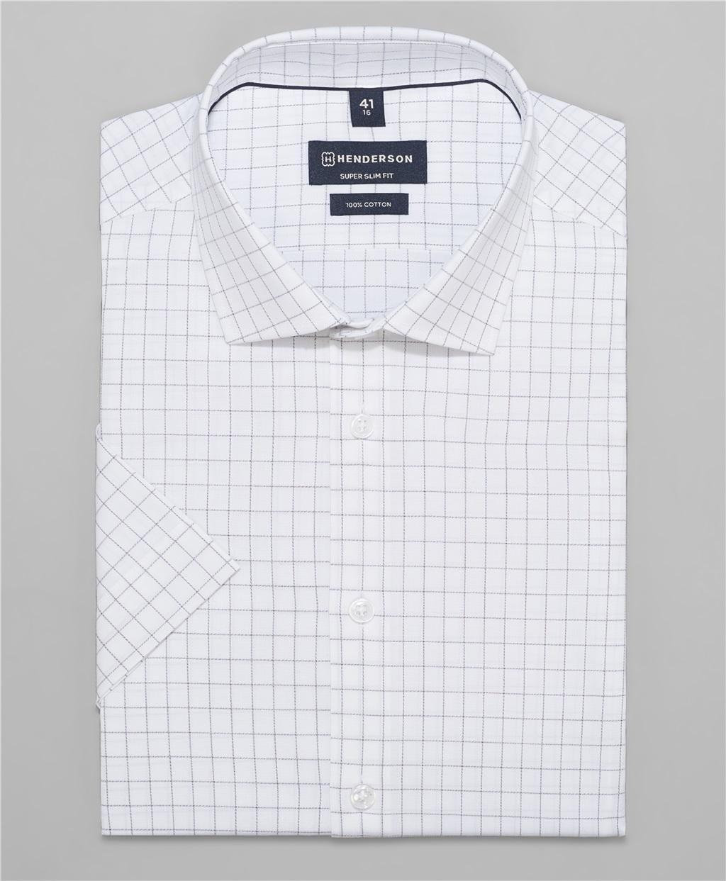 Рубашка прилегающий силуэт HENDERSON SHS-0454 GREY фото
