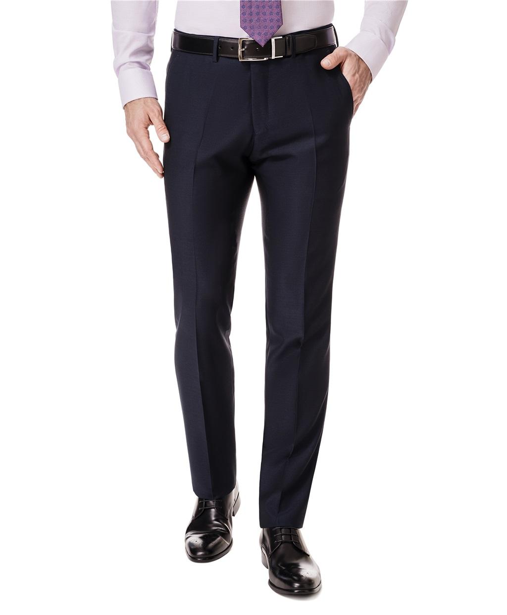 Костюмные брюки HENDERSON TR1-0120-1-S NAVY фото