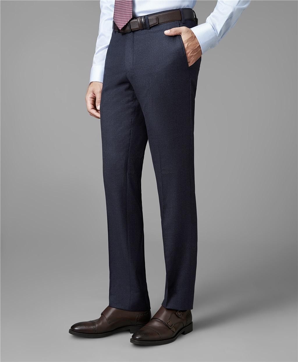 Костюмные брюки HENDERSON TR1-0136-N LNAVY фото