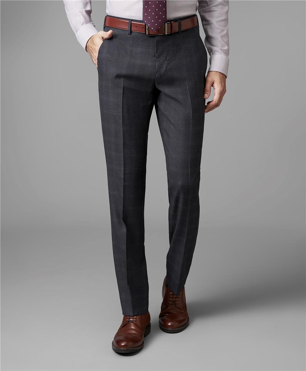 Костюмные брюки HENDERSON TR1-0140-N DGREY фото