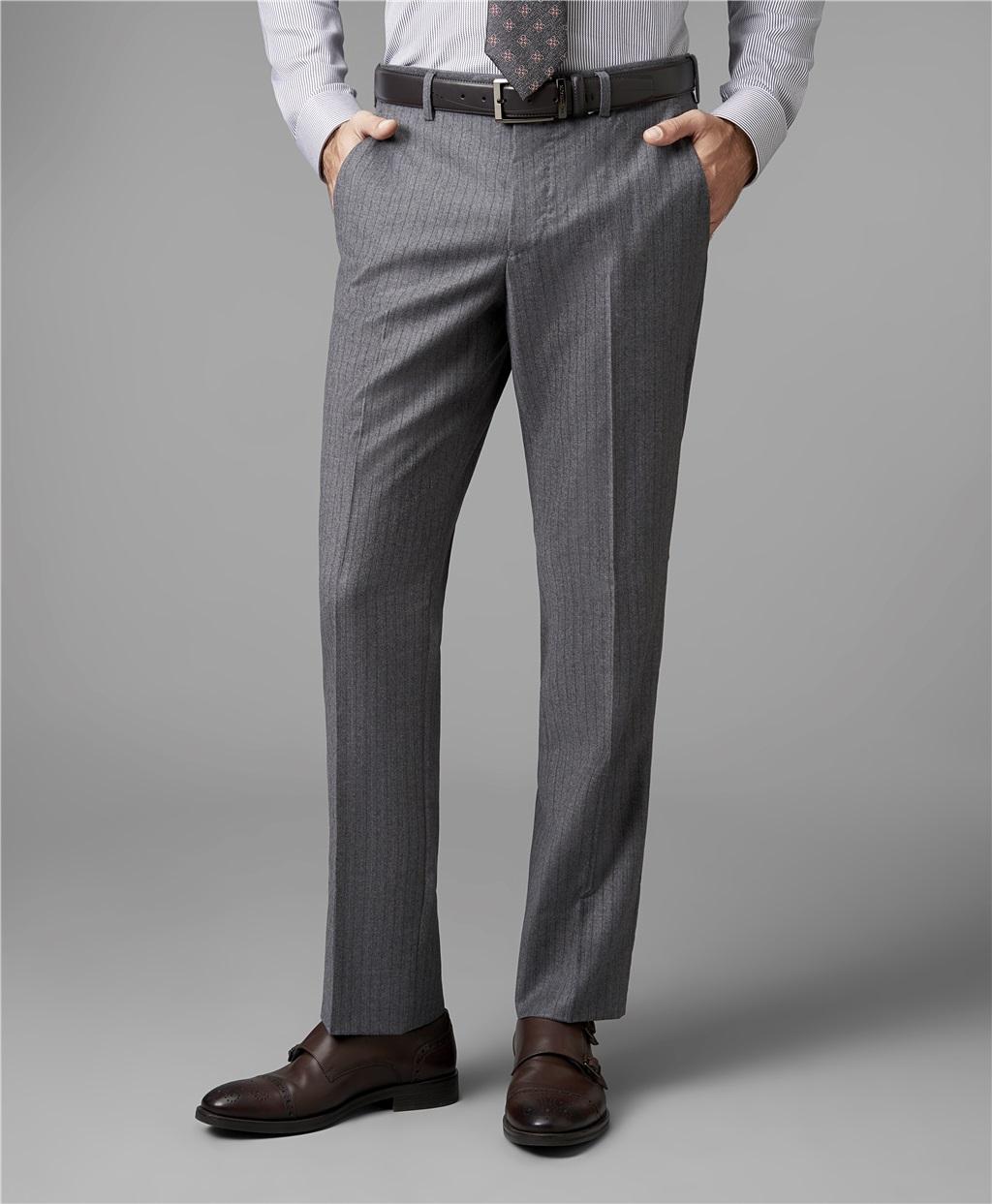 Костюмные брюки HENDERSON TR1-0141-N GREY фото