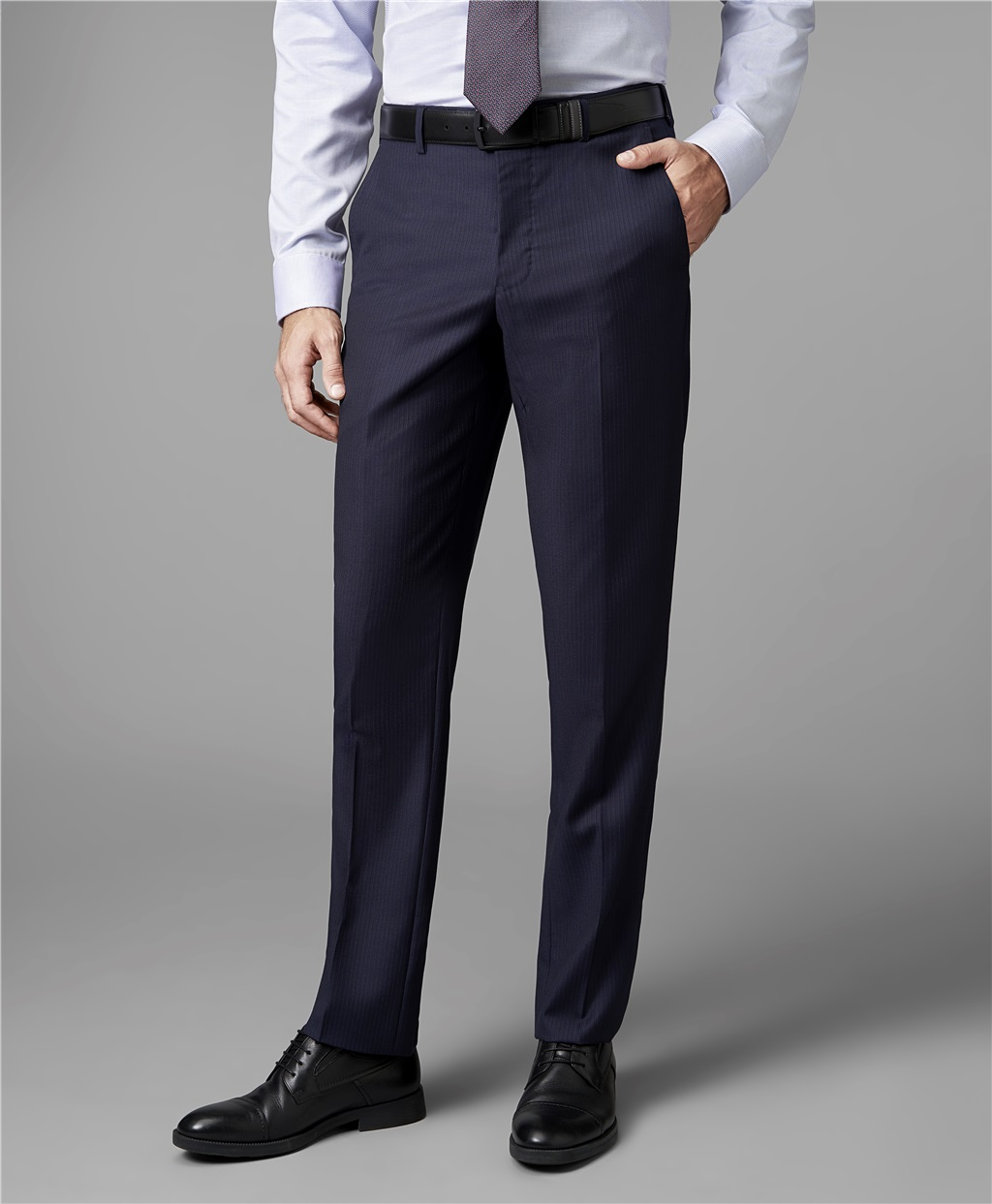 Костюмные брюки HENDERSON TR1-0142-S NAVY фото