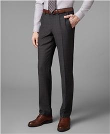 фото костюмных брюк HENDERSON, цвет коричневый, TR1-0148-N BROWN 6f746eb3267
