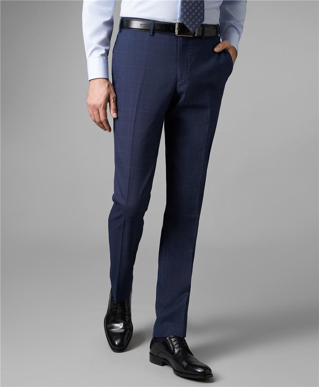 Костюмные брюки HENDERSON TR1-0152-N NAVY фото