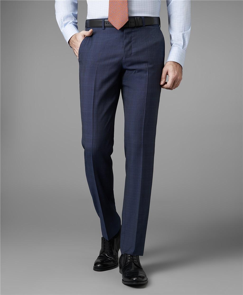 Костюмные брюки HENDERSON TR1-0157-NP NAVY фото