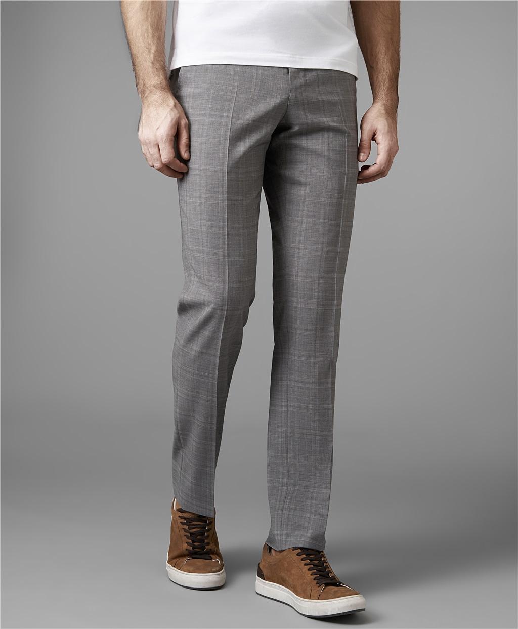 Костюмные брюки HENDERSON TR1-0159-NP LGREY фото