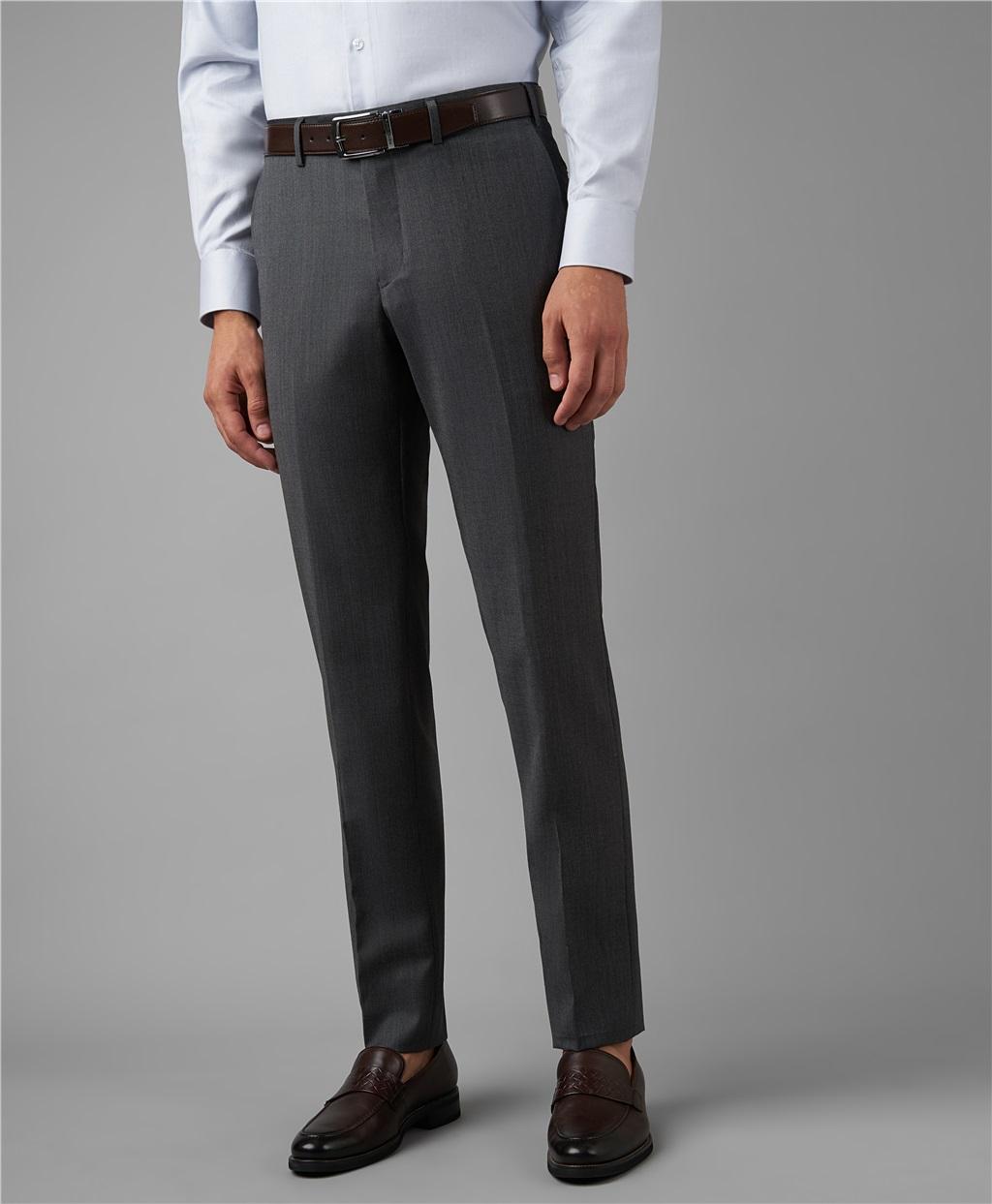 Костюмные брюки HENDERSON TR1-0160-N GREY фото