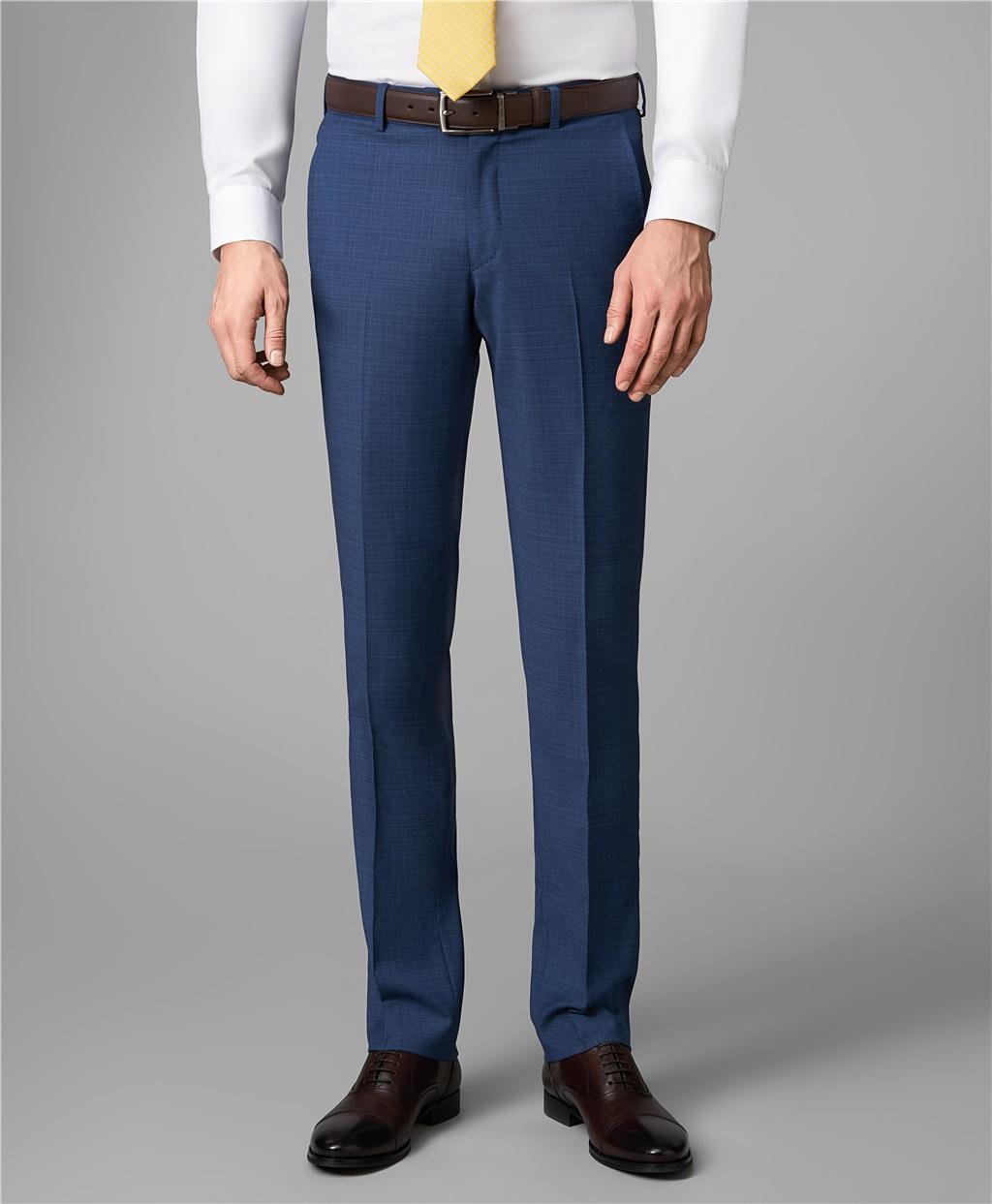 Костюмные брюки HENDERSON TR1-0161-N DBLUE фото