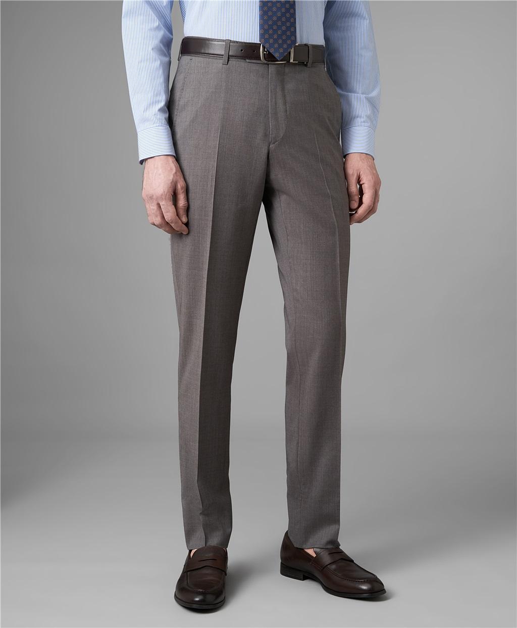 Костюмные брюки HENDERSON TR1-0162-N BEIGE фото