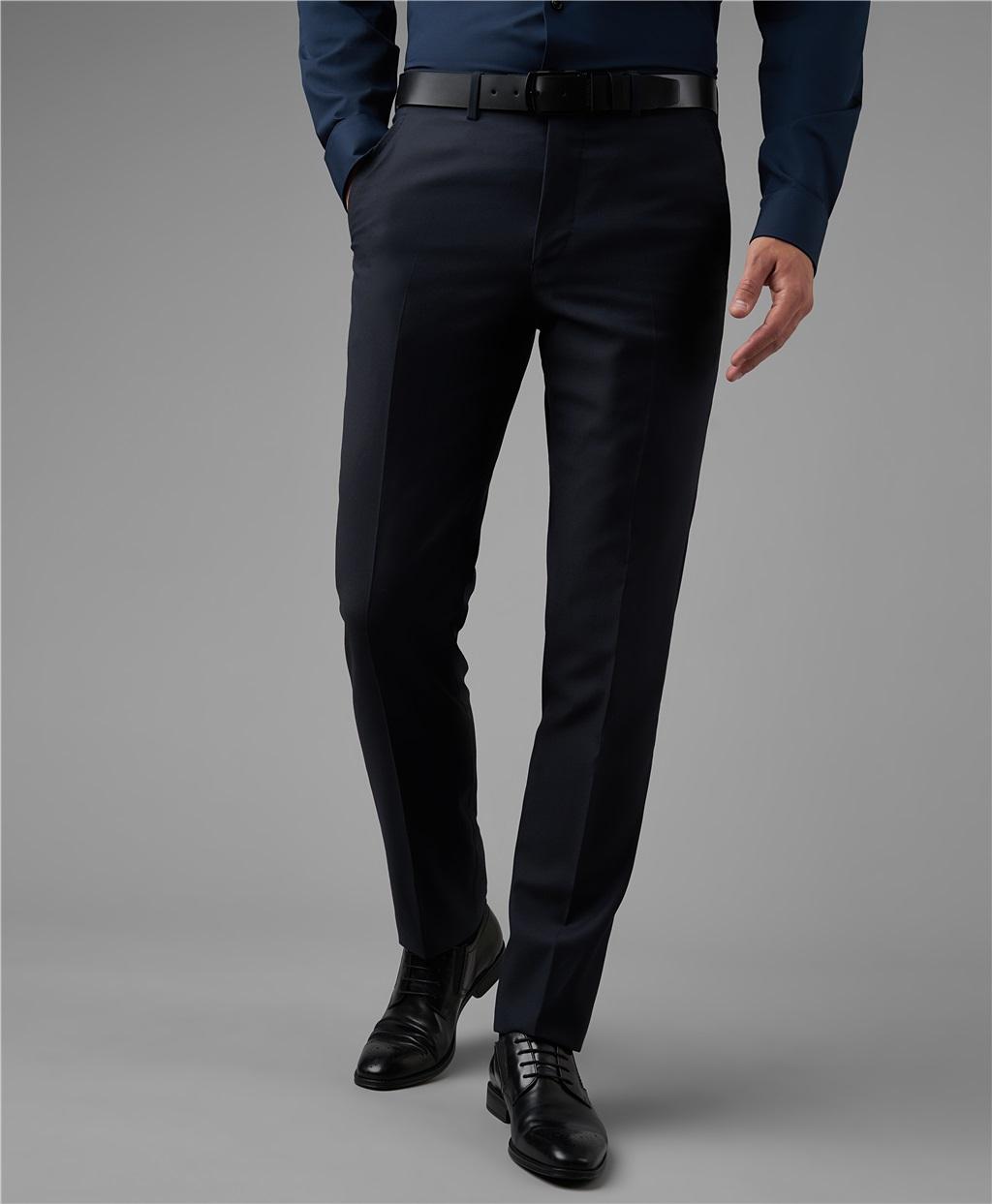 Костюмные брюки HENDERSON TR1-0163-N NAVY фото